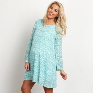 PINKBLUSH Bell Sleeve Maternity Tunic/Dress